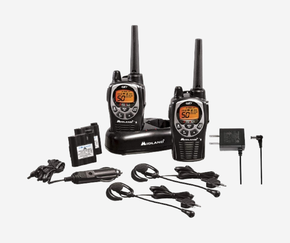 MIDLAND GXT1000VP4 36-MILES 0-CHANNEL FRS/GMRS TWO WAY RADIO